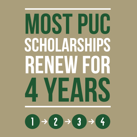 4 years most scholarships renew