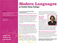 PUC Modern Languages Department Card