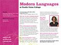 PUC Modern Languages Department Card
