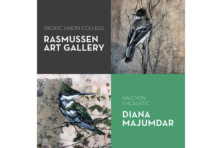 Halcyon—Encaustic: Guest Artist Diana Majdumar at Rasmussen Art Gallery