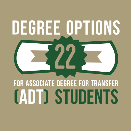 22 Degree options for ADT students