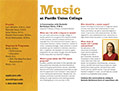 PUC Music Department Card