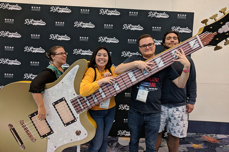 A Rich Future: Music Students Attend National Convention