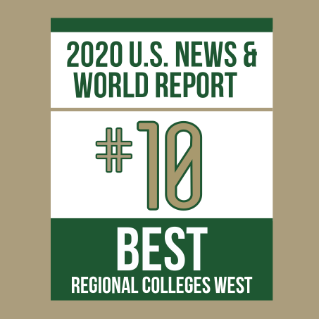 2019 US News World Report #10 Best Regional Colleges West
