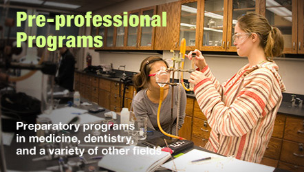 Pre-professional programs