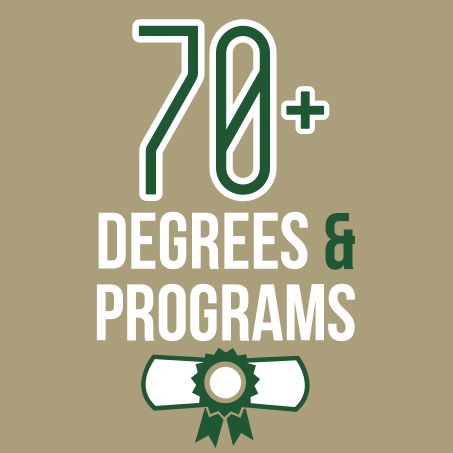 70+ degrees & programs
