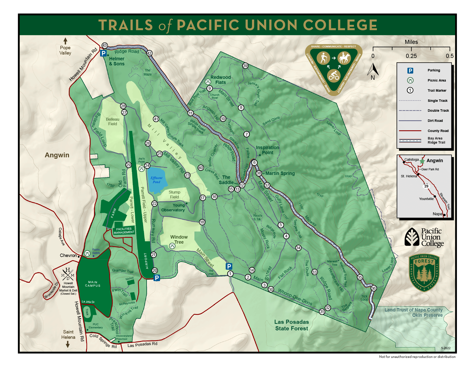 PUC Forest Map