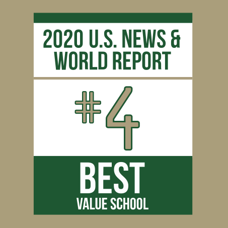 #4 best value school US News & World report