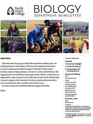 Biology Newsletter - Spring 2016