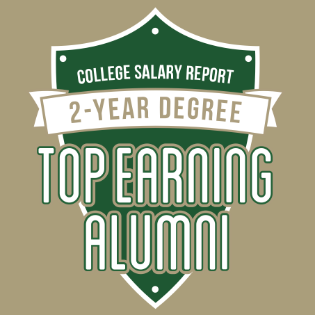 College salary report 2-year degree top earning alumni