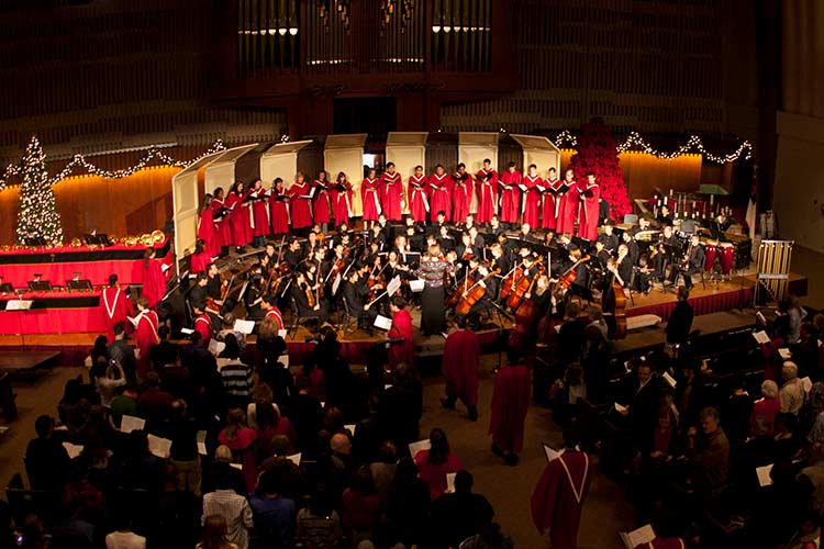 Christmas on the Hill: Annual holiday concerts at PUC