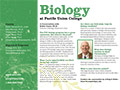 PUC Biology Department Card