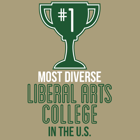 Most diverse liberal arts college in the US