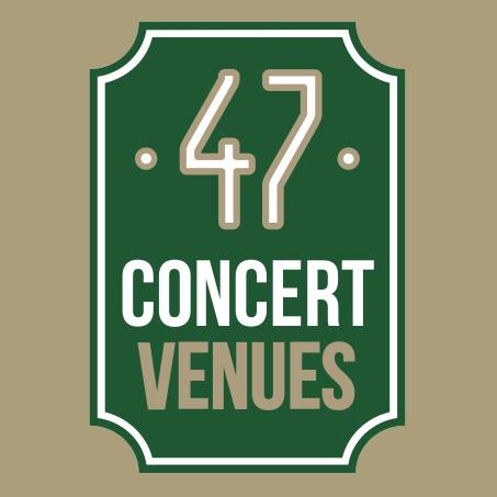 47 concert venues
