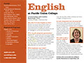 PUC English Department Card