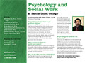 PUC Psychology & Social Work Department Card