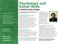 PUC Psychology & Social Work Department Card